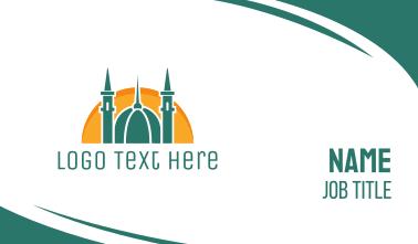 Islamic Religion Business Card