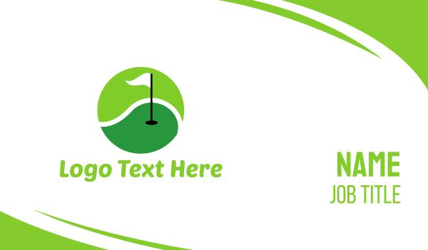 country club - Golf & Tennis Sport Business card horizontal design