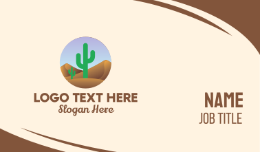 Cactus Desert Business Card