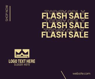 Flash Sale Shop Facebook post