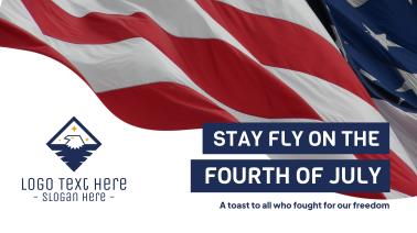Stay Fly Flag Facebook event cover