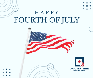 Happy Fourth of July Facebook post
