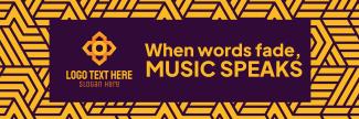 Music Speaks Twitter header (cover)
