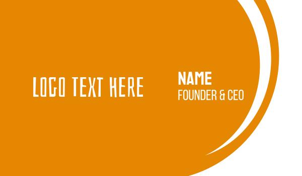 casual - Funky & Rustic Font Business card horizontal design