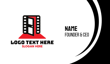 Cinematic Entrance Business Card