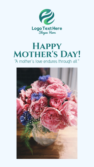 Mother's Day Flowers Facebook story