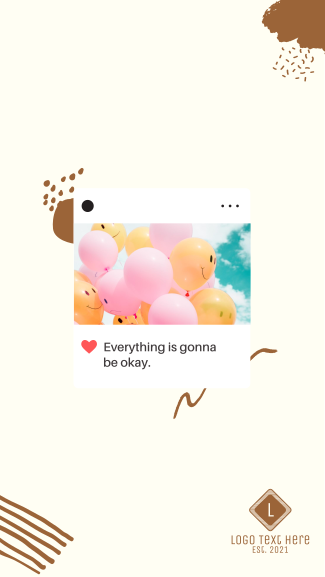 Everything Is Gonna Be Okay Facebook story