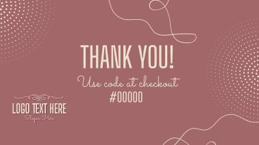 Thank You Voucher Code Facebook event cover