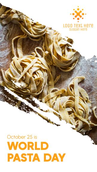 World Pasta Day Brush Facebook story