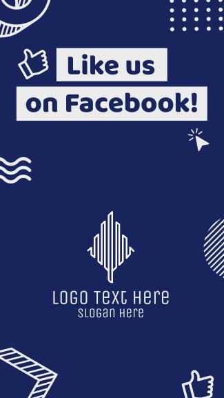 Like Us Facebook story