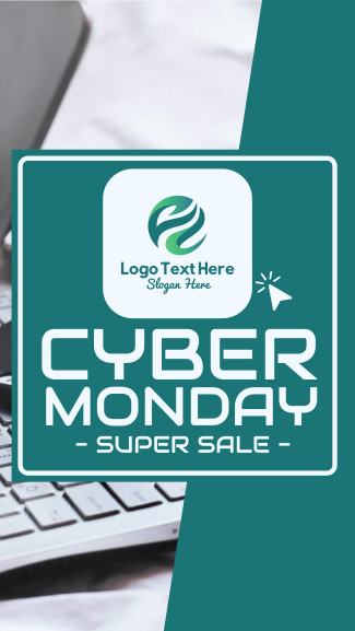 Cyber Monday Facebook story