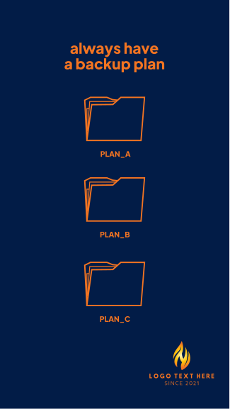 Backup Plan Facebook story