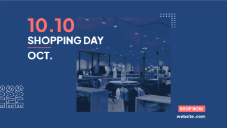 10.10 Shopping Day Facebook Event Cover