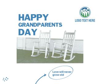 Grandparents Rocking Chair Facebook post