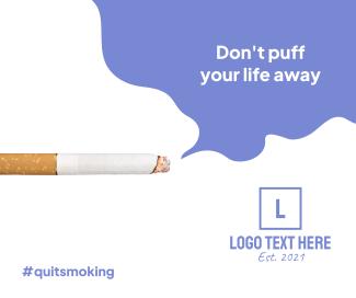Quit Smoking Facebook post