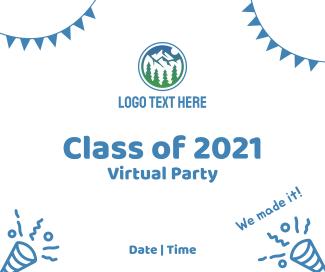 Graduation Party Invitation Facebook post
