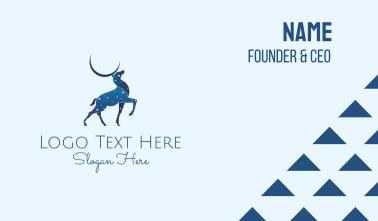 Blue Deer Astrology Business Card