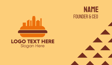 Hot Dog City  Business Card