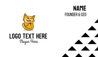 Cat Kitten Business Card