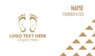 Footprint Mark Business Card