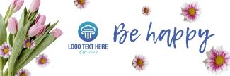 Flower Shop Twitter header (cover)