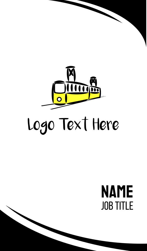 Yellow Tram Business Card