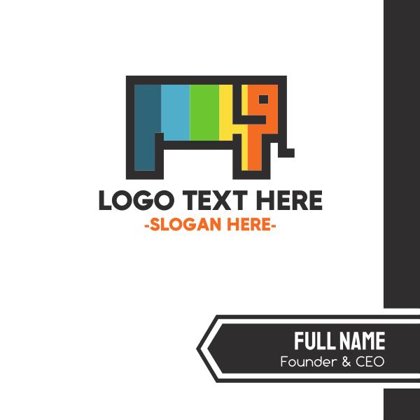 Pixel & Elephant Business Card