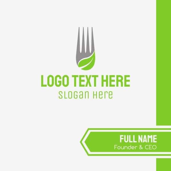 Leaf Fork Business Card