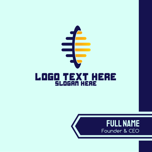 Beehive Business Technology Company Business Card