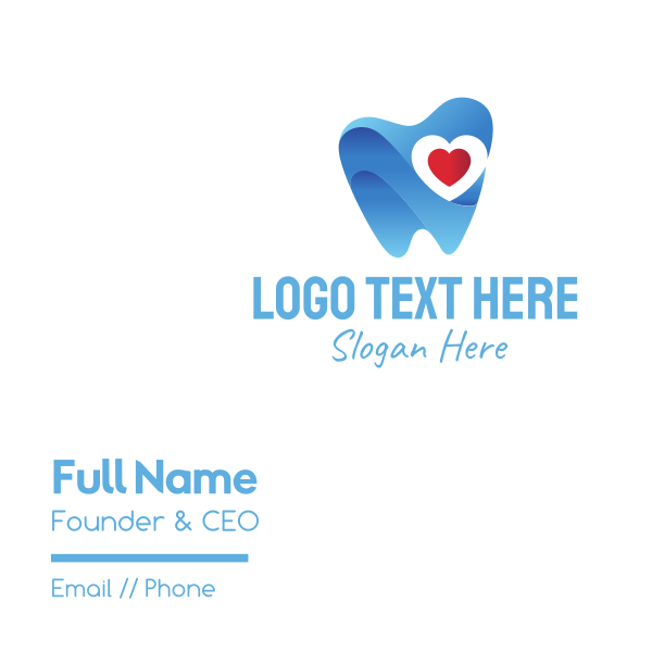 Tooth Heart Business Card