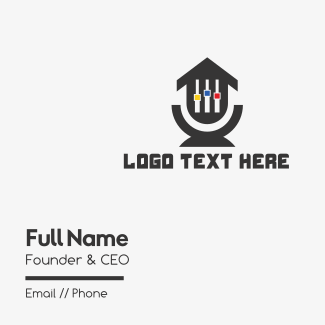 House Music Business Card