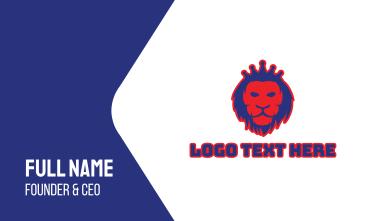 Lion Crown Business Card
