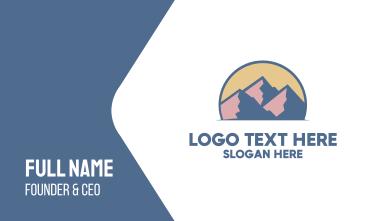 Rocky Mountain  Business Card