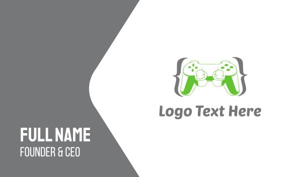 remote - Game Controller Business card horizontal design