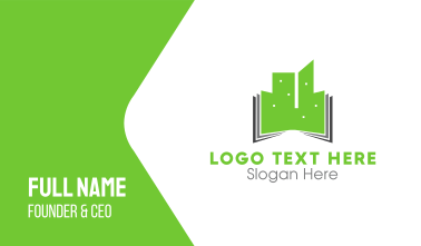 Green Buildings Business Card