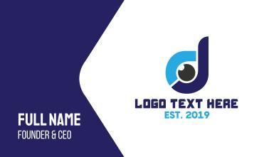 Digital Eye D Business Card