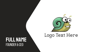 Green Snail Business Card