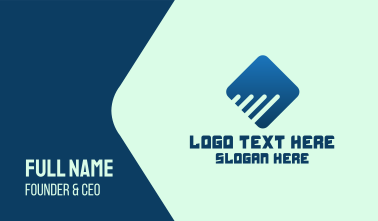Digital Corporate Diamond Business Card