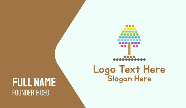 Dotted Tree Business Card