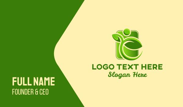 herbal - Herbal Health Herb Business card horizontal design