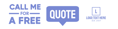 Free Quote LinkedIn banner