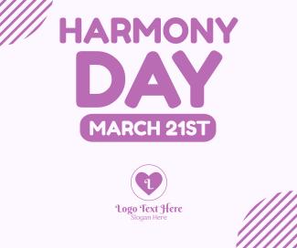 Harmony Week Facebook post