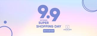 9.9 Shopping Day Facebook cover