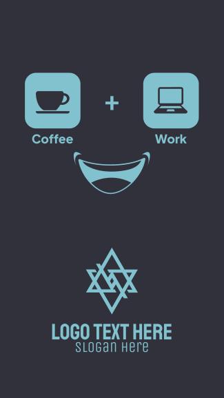 Coffee + Work Facebook story