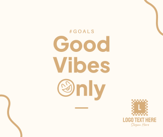 Good Vibes Only Facebook post