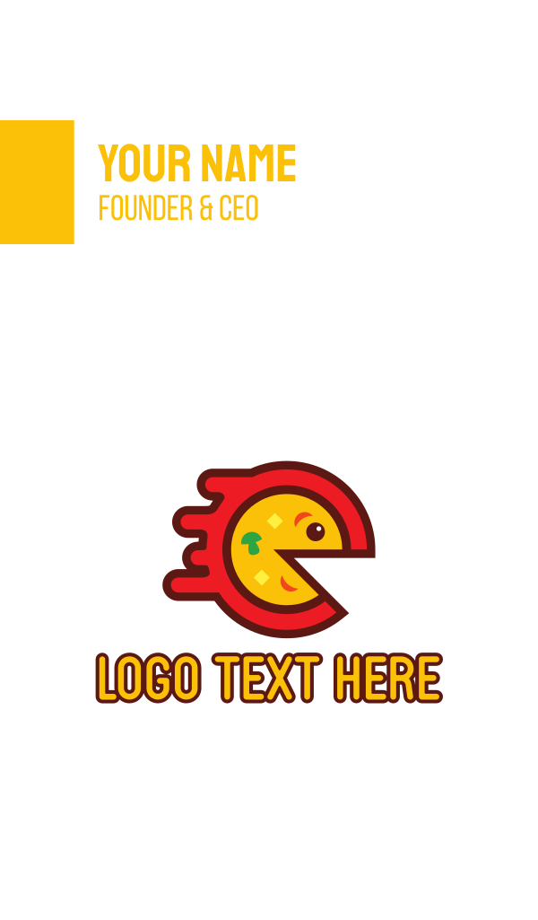 Pizza Game Business Card