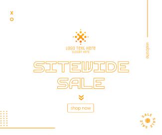 Sitewide Sale Facebook post