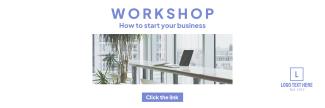 Workshop Business Twitter header (cover)