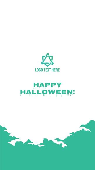 Happy Halloween Facebook story