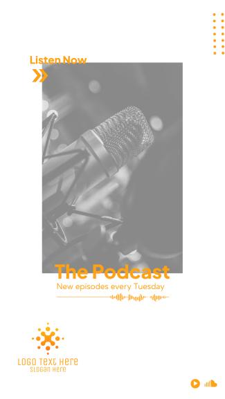 Podcast Stream Facebook story
